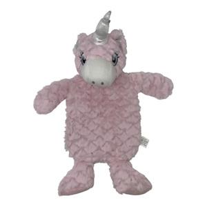 Super Soft Plush Pink Unicorn Hot Water Bottle Heat Pack for Girls Women Cosy