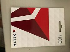 Delta Airlines Gift Card - $100 Value (see other gift card listings I have)