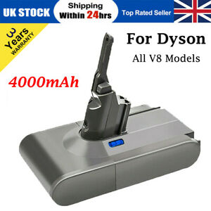 For DYSON V8 V6 ABSOLUTE ANIMAL MOTORHEAD REPLACEMENT BATTERY 968670-02 SV10 A++