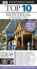 NEW - Top 10 Montreal & Quebec City (Eyewitness Top 10 Travel Guide)