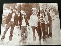 LINDISFARNE Bandportrait XL POSTER Riesenposter aus 1970s Größe: 69x50cm selten!