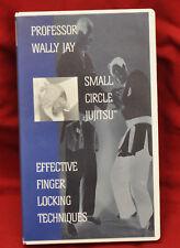 Wally Jay - Small Circle Jujitsu - Effective Finger Locking Techniques vhs 1995
