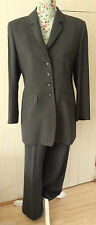 Women's No Pattern Wool Blend Trouser Suits & Tailoring