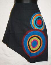 New Embroidered Mini Skirt S 10 - Hippy Fair Trade Hippie Gypsy Circles Boho