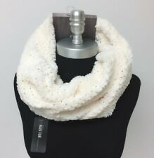 c67940124 NEW Gold foiled faux fur Cowl Infinity Scarf Ivory Winter Warm Soft HIGH  QUALITY