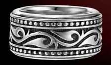 Scott Kay Sterling Silver Scroll Ring