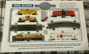 BACHMANN HO Silver Series Trail Blazer Train Set - Union Pacific