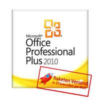 Microsoft Office 2010 Professional Plus MS Office Pro Plus 2010 Vollversion Key