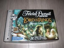 Trivial Pursuit DVD The Lord of The Rings Trilogy Edition Board Game