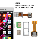 New Sim Slot Dual SIM Extender Card Adapter Extender Nano for samsung Android