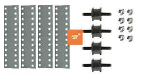UNIVERSAL HOT ROD CONDENSER MOUNTING KIT - A/C