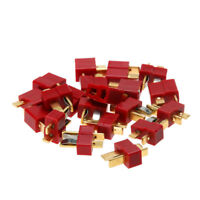 RC Lipo Battery Helicopter 10Pair Male Female T Shape Plug Cable Connectors