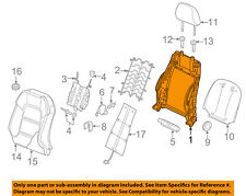 AUDI OEM 15-18 A3 Front Seat-Seat Back Frame Right 5Q4881046C