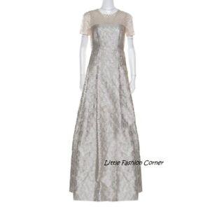 RRP €1290🌟Pianoforte MAX MARA Metallic Jacquard  Dress USA6_ IT40_D36_UK8 _FR38