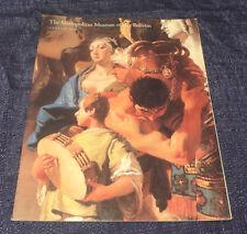 Metropolitan Museum Art MMA Bulletin Spring 1998 Ca'Dolfin Tiepolos Venice Italy