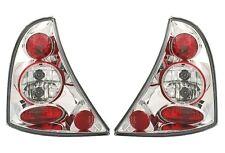 2 FEUX ARRIERE RENAULT CLIO 2 2001-2005 1.5 DCI 1.2 1.4 16S LEXUS CHROME CRISTAL