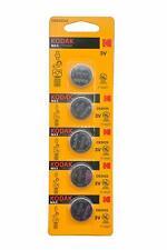 5 Pack Kodak Ultra CR2025 3V Lithium Button Battery Exp 2025