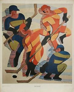 Ernst Ludwig Kirchner, Hockey Players, Poster