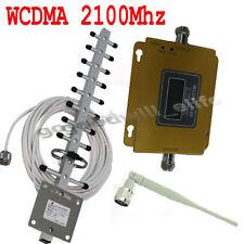 WCDMA 2100Mhz LCD 3G Mobile Phone UMTS Signal Booster Amplifier yagi kits