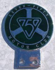 Seven Fifty Motor Club 750 émail voiture badge emblème