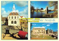 L088741 Historic Norfolk. Customs House. King Lynn. Ruins of Binham Priory. Judg