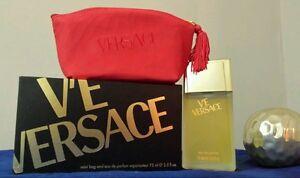 V'E versace For Woman Edp 75ml+ Mini Bag, Rare