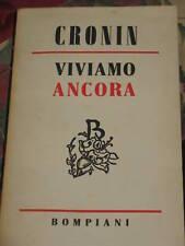 A.J.CRONIN - VIVIAMO ANCORA 1956