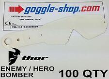 100 Cant goggle-shop Motocross lágrima ofertas para caber Thor Enemy Hero Bomber Gafas
