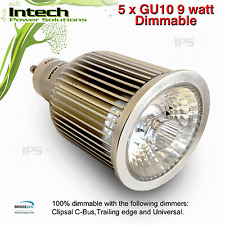 5 x DIMMABLE GU10 LED Globe 10W 550lm Neutral White compatible C-Bus Universal