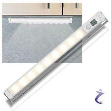 Lunartec LED Lichtleiste warmweiß PIR Bewegungsmelder - Leiste batteriebetrieben