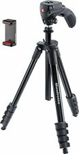 """Manfrotto - Compact Action 61"""" Tripod with Joystick Head and SmartPhone Clamp"""