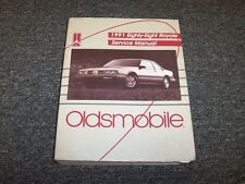 1991 Oldsmobile Eighty-Eight 88 Royale Coupe Shop Service Repair Manual 3.8L V6
