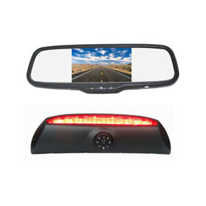 Brake Light Parking Rear View Reverse Camera Mirror Monitor for Iveco Daily Van
