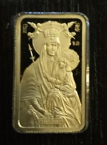 Belarus 50 rubles 2014 Icon of the Most Holy Theotokos of Belynichi Gold