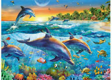 Ravensburger 500 piece Dolphin Cove Jigsaw Puzzle