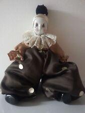 Clown Harlekin Maske Venezia Porzellan