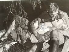 """Tab Hunter Signed 8x10 Photo with Etchika Choureau in """"Lafayette Escadrille"""" 58"""