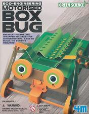 4 m Caja De Ciencia Verde Bug: fácil de hacer motorizados Caja Bug edades 5 Plus.