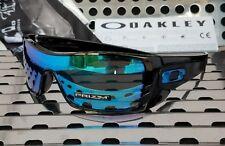 New Oakley BATWOLF 9101-5827 Sunglasses Gloss Black w/ Prizm Sapphire Iridium