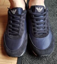 BOYS GEORGIO ARMANI JEANS TRAINERS SIZE UK 6.5
