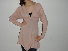 Peter Alexander Robertson Blvd Ladies Pink Cashmere Blend Jumper XS 8 NWT $260