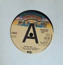 CAMEO - FIND MY WAY / IT'S SERIOUS. 1977. UK. CASABLANCA RECORDS. PROMO