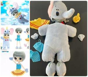 Jun Planning Pullip Doll Byul Dal Dumbo 10 Pc Disney B-303 Outfit ONLY 2010 New