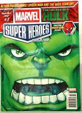 MARVAL SUPER HEROES Magazine Incredible Hulk & Spiderman team up Sep/Oct 2012 #3