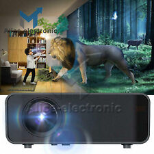 Android 4K 3D 1080P LED Projector WIFI Bluetooth Home Theater Cinema 12000LM