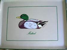 Mallard Duck Melamine Serving Tray Platter Designed & Signed by Georges Briard