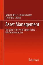 ASSET MANAGEMENT - NEW HARDCOVER BOOK