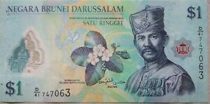 Brunei 5th Series 2016 $1 Note D/41 747063