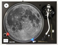 MOON - DJ SLIPMAT 1200's or any turntable, record player