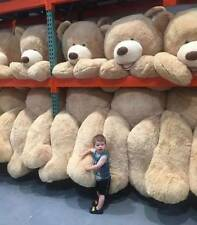 """HUGE SUPER TEDDY BEAR(ONLY COVER) PLUSH SOFT TOYS 99""""/2.5m SHELL (WITH ZIPPER) A"""